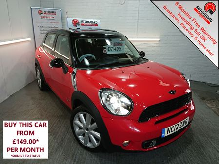 MINI COUNTRYMAN SDT ALL4 143 Start-Stop Cooper S